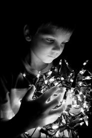 POR Kunstlicht Kerstlichtjes